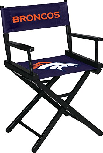 Denver Chair Leather (Imperial Officially Licensed NFL Merchandise: Directors Chair (Short, Table Height), Denver Broncos)