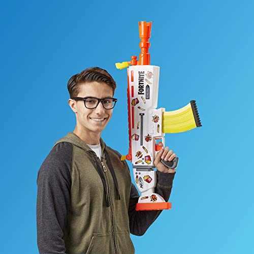 NERF Fortnite AR-Durrr Burger Motorized Blaster -- Customizing Stickers, 20 Darts, 10-Dart Clip -- for Youth, Teens, Adults (Amazon Exclusive)