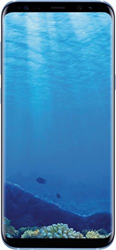 Samsung Galaxy S8 64GB Unlocked Phone - International Version (Coral Blue)
