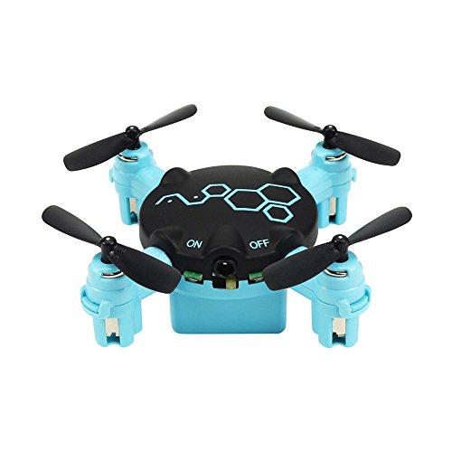 wlgreatsp FQ04ミニポケットドローンカメラ付きライブビデオ、3DフリップリモートコントロールRCクアドコプター無人モードのおもちゃ子供のための