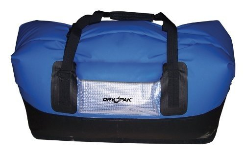 DRY PAK DP-D1BK Waterproof Duffel Bag, Black, (Kwik Tek Dry Bag)