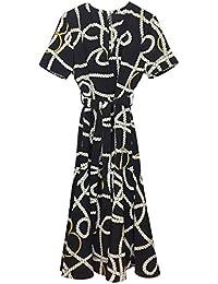 a0be228cb6 Women Scarf-Print Long Dress 41051114 · MANGO