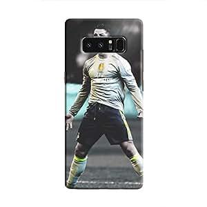 Cover It Up - Cristiano Green Monochrome Galaxy Note 8 Hard Case