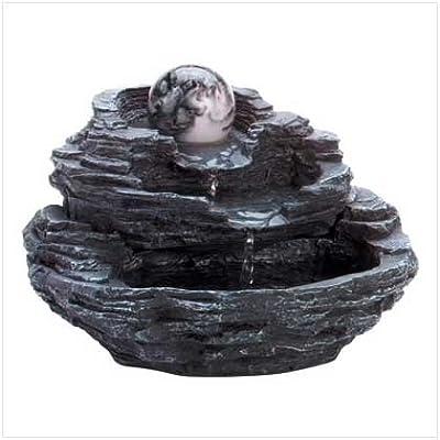Gifts & Decor Rock Design Gift Indoor Tabletop Desktop Water Fountain