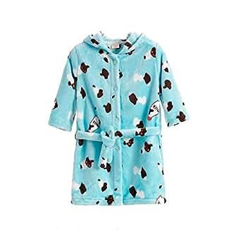JZLPIN Niñito Bata de Baño Bebé Encapuchado Bata Franela Batas para niños Pijama Ropa de Dormir: Amazon.es: Ropa y accesorios