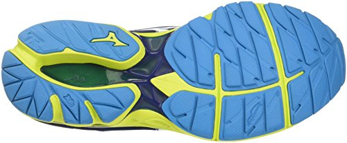 Chaussures Profondeurs De Pour Soufre Rider Course Wave Printemps 20 Blanc Pied Multicolore bleu Mizuno Hommes rrwxPA