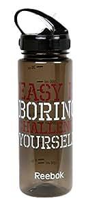 Reebok BPA Free Easy Water Bottle, 650ml, Black