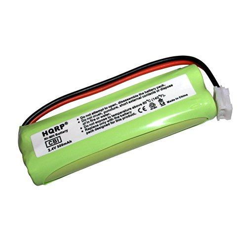 HQRP Phone Battery for VTech LS6204, LS61152, LS61172, LS61252, LS61253, LS61254 + HQRP Coaster Vtech Ls6204 Accessory Handset