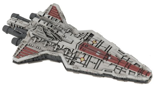 Hasbro Titanium Series Star Wars 3INCH Vehicles - Attack Cruiser (Venator Star Destroyer)