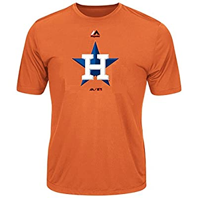 Youth MLB Geo Strike Cool Base Tee (Youth XL 18/20, Houston Astros)