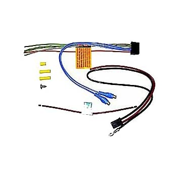 amazon.com: bazooka ela-hp-awk oem replacement wiring ... bazooka bt1014 wire harness harley chopper wire diagram 7 wire harness #12