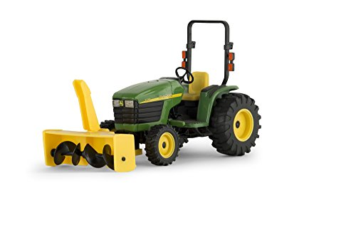 toy tractor with snow blower - 1