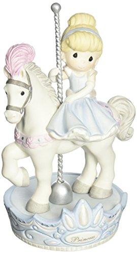 Precious Moments, Disney Showcase Collection, Love Always Comes Around, Bisque Porcelain Figurine, 131037 ()