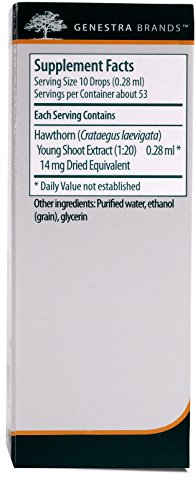 Genestra Brands - Hawthorn Young Shoot - Herbal Supplement - 0.5 fl. oz. by Genestra Brands (Image #1)