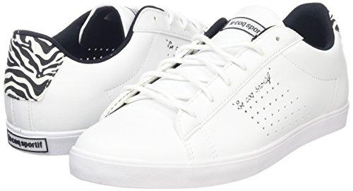 Le Coq Sportif AGATE LO ZEBRA Scarpe Moda Sneakers Bianco per Donna