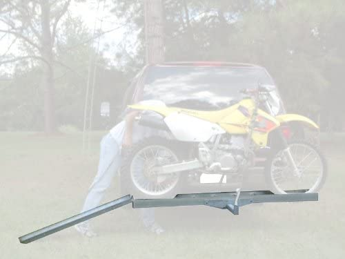 Prohiosts 400lb Capacity Aluminum Motocross Motorcycle /& Dirt Bike Carrier for 2 Hitch Receivers