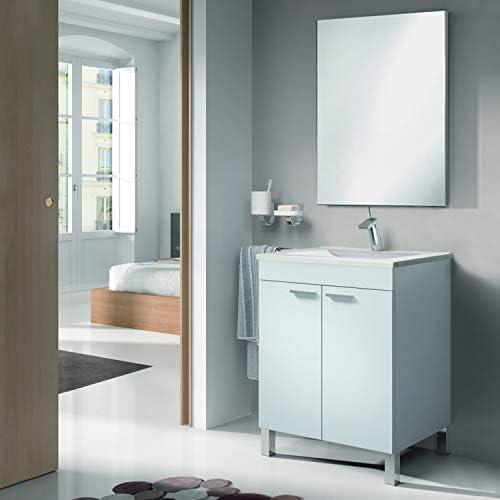 ARKITMOBEL - Mueble de baño LC1, modulo 2 Puertas con Espejo ...