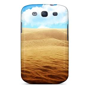New Style Case Cover TzJ4114AvDU Sandy Desert Compatible With Galaxy S3 Protection Case
