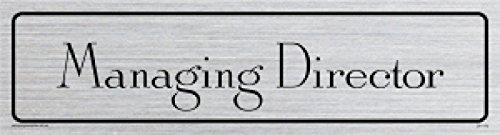 Viking Signs DV1173-L26-SV \u0026quot;Managing Director\u0026quot; Door Sign Antique  sc 1 st  Amazon UK & Viking Signs DV1173-L26-SV \