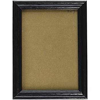 craig frames 200ashbk 075 inch wide pictureposter frame with wood grain finish 20 by 24 inch black