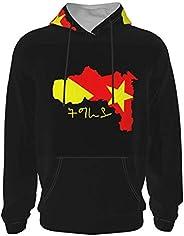 Gesdfwe Tigray Region Map Hoodies Long Sleeve Pullover Hoodies Teen Hooded Sweater Hoodies for Girls Boys Unis