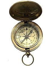 "Eve Store Nauticals 2"" Messing Gezicht Pocket Kompas - Camping Accessoire"