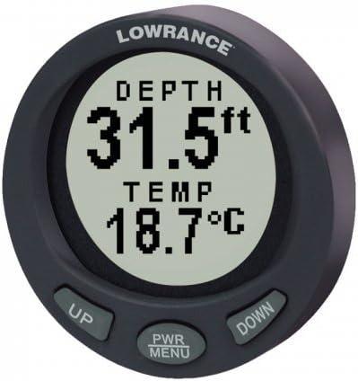 "NAVICO 000-0047-94 / Lowrance LST-3800 Depth/Temp Gauge 2\"" 415VdIM6WKL"
