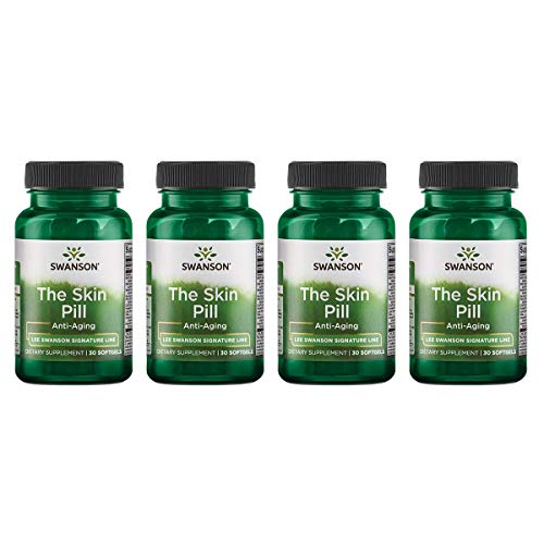- Swanson The Skin Pill 30 Sgels (4 Pack)