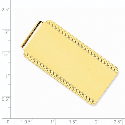 Money Engravable Clip 14k Gold Engravable Yellow 14k Money Yellow Gold Clip 8nSRRwqzB