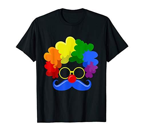 Angry Clown Face (Halloween Clown Face T Shirt)