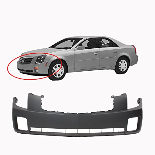 MBI AUTO - Primered, Front Bumper Cover 2003 2004 2005 2006 2007 Cadillac CTS, GM1000656