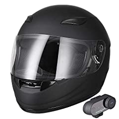 Bluetooth Motorcycle Full Face