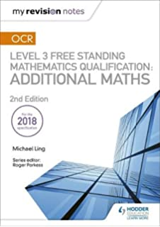 OCR Level 3 Free Standing Mathematics Qualification