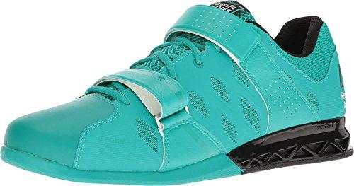(Reebok Men's Crossfit Lifter Plus 2.0 CFG/Neon Pacific/Black Athletic Shoe)