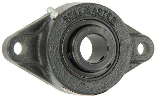 Sealmaster Msft 32 Medium Duty Flange Unit  2 Bolt  Regreasable  Felt Seals  Setscrew Locking Collar  Cast Iron Housing  2  Bore  8 1 2  Overall Length  7 1 4  Bolt Hole Spacing Width  13 16  Flange Height