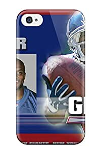 Premium GtVOHMB5326IVlzV Case With Scratch-resistant/ Attractive New York Giants Amani Toomer Vpnoxzx Case Cover For Iphone 4/4s