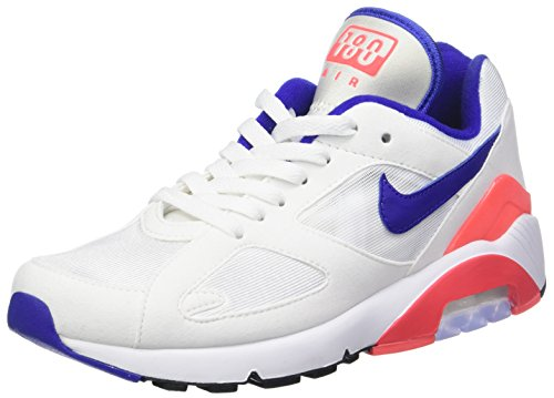 Nike W Air MAX 180, Zapatillas de Running para Mujer Multicolor (White/Ultramarineso 100)