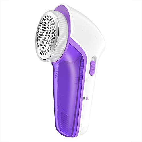 Wei Zhe- Fabric Shaver- Portable Lint Remover Clothes Shaver Portable Rechageable Bobbles Fabric Shaver for Fleece Clothes Portable Clothing Razor (Size : 2 Blade) ()
