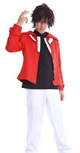 [ICEMPs Yu-Gi-Oh! Duel Monsters GX Slifer Slack Jaden Yuki Judai Outfit Set L] (Yugioh Halloween Costumes)