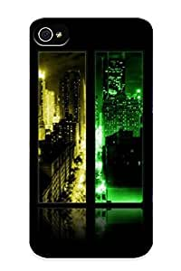 Catenaryoi Series Skin Case Cover Ikey Case For Iphone 4/4s(city Through The Window )