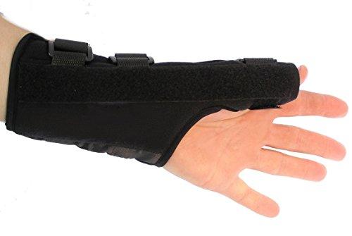 Arthritis Thumb Splint - Thumb Splint - Thumb Brace - Thumb Guard Splint Brace- Black - Left Hand - Thumb Guards - Sprained Thumb Brace - Thumb Brace - Thumb Braces - Wrist Brace Thumb - Thumb Spica Brace - Thumb Support Brace - Left Hand