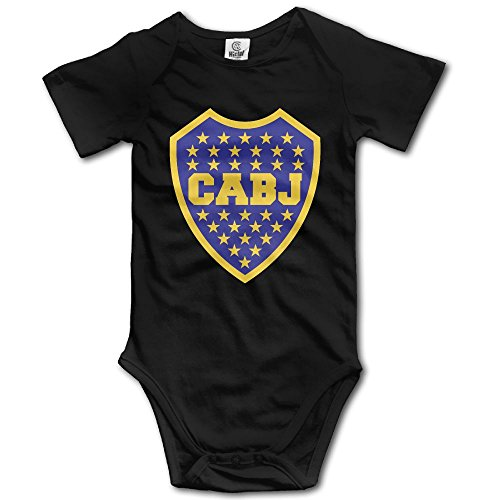 Boca Juniors Soccer Funny Cute Novelty Infant Baby Bodysuit ()