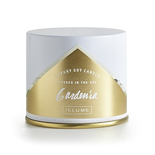 Illume, Candle Gardenia Vanity Tin