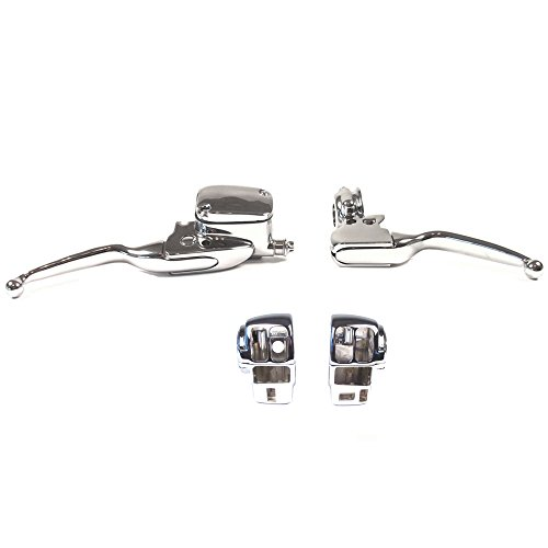 Handlebar Switch Cycle Country (Hill Country Customs Chrome Handlebar Control kit for 2008-2013 Harley-Davidson Touring models with Radio and Cruise Control - HC-HCB120-1005)