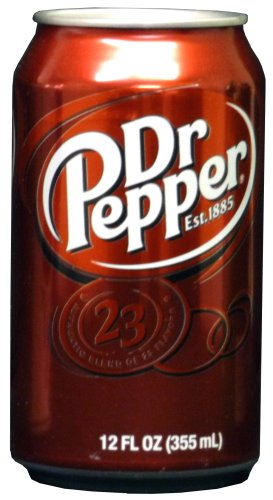 Southwest Specialty Products 51003C Dr Pepper Diversion Can Safe, 12 fl oz/ 355 ml