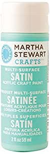 Martha Stewart Crafts Multi-Surface Satin Acrylic Craft Paint in Assorted Colors (2-Ounce), 32067 Chamomile