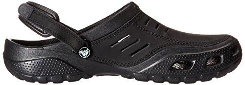 Crocs Hombres Yukon Sport Clog Negro / Negro