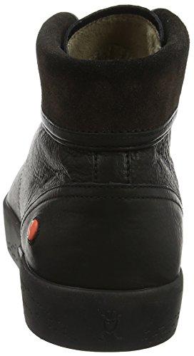 Softinos Noir Hautes black Femme 000 Kot467sof Baskets fF4qwrzf