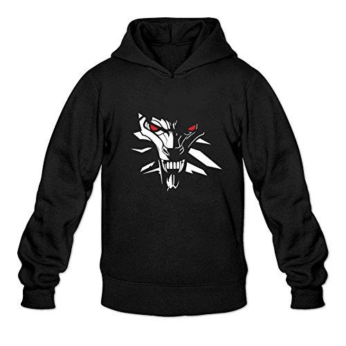 Reder Men's The Witcher 3 Wild Hunt2 Sweatshirt Hoodie L Black