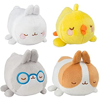Molang Plush Figures 8 cm Display Basic (16) Tomy Peluches